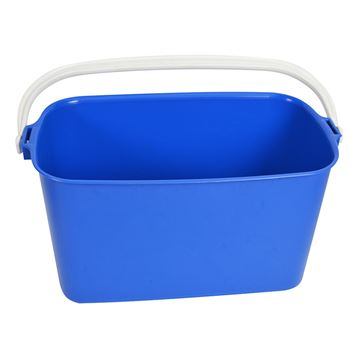 Picture of WINDOW CLEANERS OBLONG BLUE BUCKET - 9 Litre