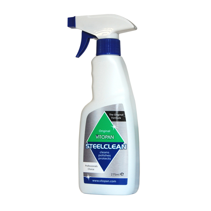Vitopan Stainless Steel Cleaner 275ml Wessex Cleaning