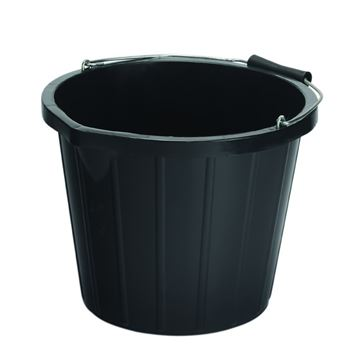 Picture of BUILDERS BUCKET BLACK - 3 Gallon