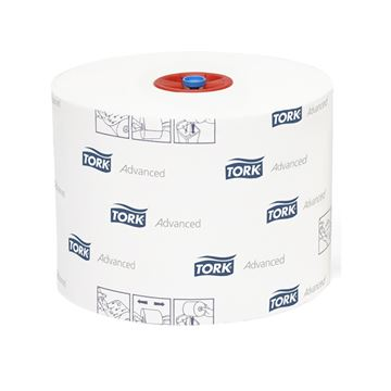 Picture of TORK COMPACT TOILET ROLL 2PLY WHITE 127530 (Case of 27)