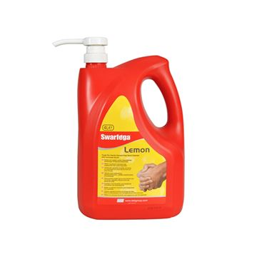 Picture of SWARFEGA LEMON HAND CLEANER WITH PUMP - 4 Litre