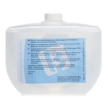 Picture of BAY WEST INSTANT SANITIZER FOAM - 800ml 9605 (Case of 8)