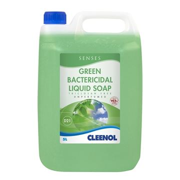 Picture of GREEN BACTERICIDAL LIQUID SOAP - 5 Litre (Case of 2)