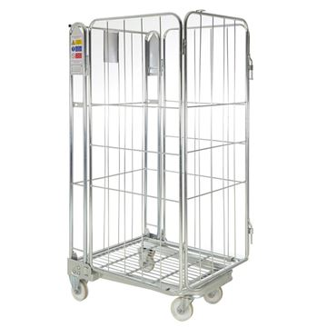 Picture of METAL CAGE ON WHEELS 1690mm x 735mm x 850mm