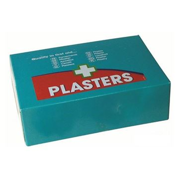 Picture of WATERPROOF PLASTERS ASSORTED SIZES (Pack of 100)