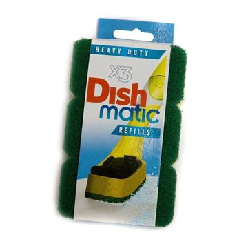 Picture of DISHMATIC SPONGE REFILLS (Pack of 9)