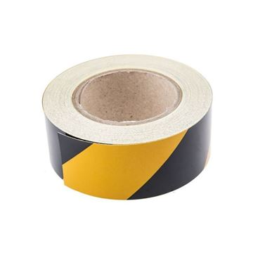 Picture of BLACK & YELLOW TAPE 50mm x 25mtr