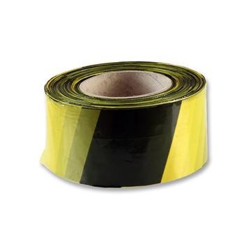 Picture of BLACK & YELLOW TAPE NON-ADHESIVE PER ROLL