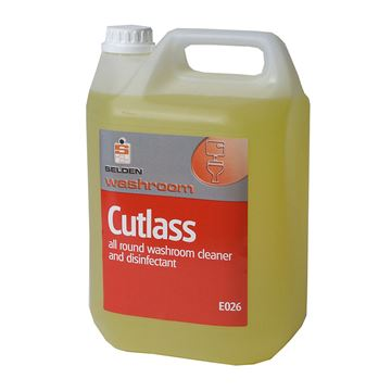 Picture of SELDEN CUTLASS 3IN1 CLEANER DISINFECTANT - 5 Litre E026