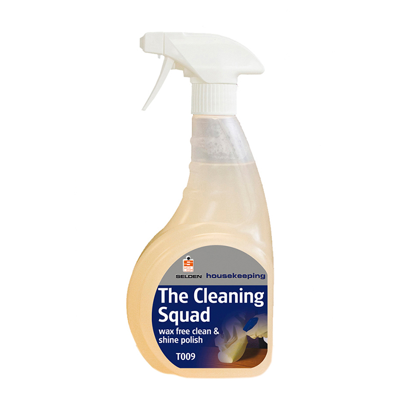 Selden Cleaning Squad Wax Free Polish 750ml T009