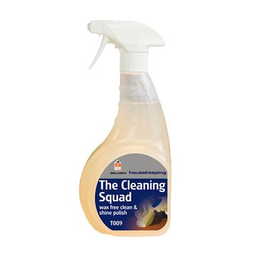 Picture of SELDEN CLEANING SQUAD WAX FREE POLISH - 750ml T009