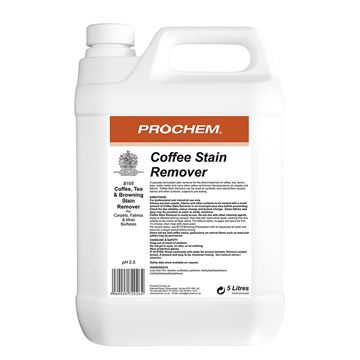 Picture of PROCHEM COFFEE STAIN REMOVER - 5 Litre B195