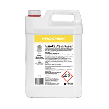 Picture of PROCHEM SMOKE / ODOUR NEUTRALISER - 5 Litre A222