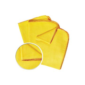 Picture of YELLOW DUSTERS (Pack of 10)