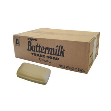 Picture of BUTTERMILK TABLET SOAP - 70g (Case of 72)