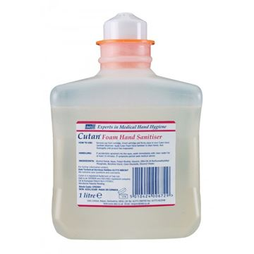 Picture of CUTAN FOAM HAND SANITISER - 1 Litre (Case of 6)