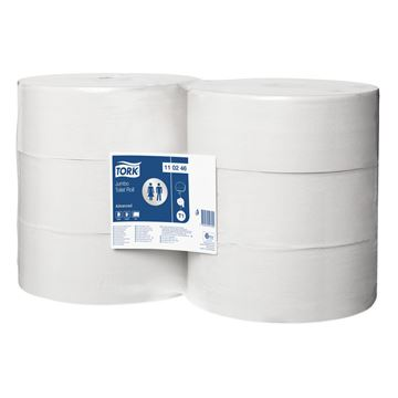 Picture of TORK JUMBO TOILET ROLL ADVANCED 2PLY 110246 (Case of 6)