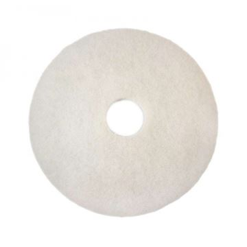 """Picture of 14""""  WHITE FLOOR PAD"""