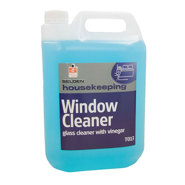 Selden Glass Cleaner With Vinegar 5 Litre T013 Wessex