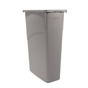Picture of RUBBERMAID SLIM JIM WASTE CONTAINER - 87 Litre FG3540