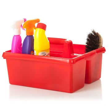 Picture of CARRY CADDY TRAY RED