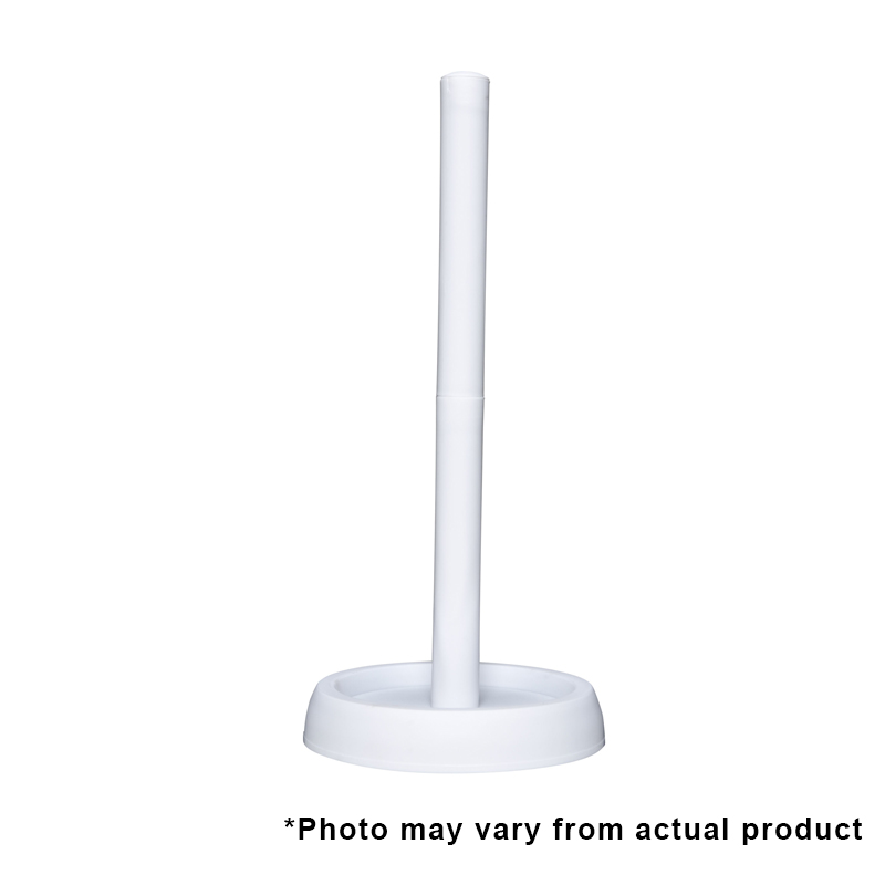 Free Standing Toilet Roll Holder White Wessex Cleaning