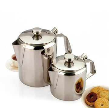 Picture of TEA POT STAINLESS STEEL 48OZ