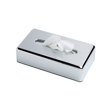 Picture of RECTANGULAR FACIAL TISSUE HOLDER CHROME