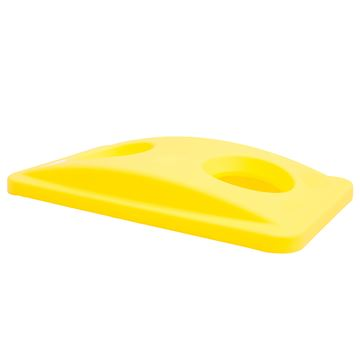 Picture of RUBBERMAID SLIM JIM BOTTLE LID YELLOW - FG268888