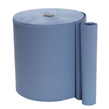 Picture of MONSTER ROLL 3PLY BLUE - 1000 SHEET