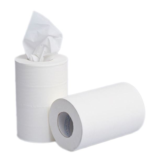 Picture of MINI CENTREFEED HAND TOWEL 2PLY WHITE - 60m x 200mm (Case of 12)