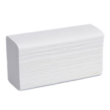 Picture of Flight C Fold 2 Ply White Hand Towels (Case of 2400 sheets)