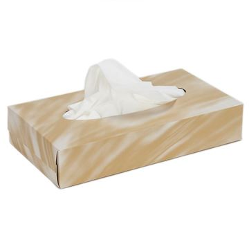 Picture of 2 ply White Facial Tissues - 180mm x 208mm  (Case of 24)