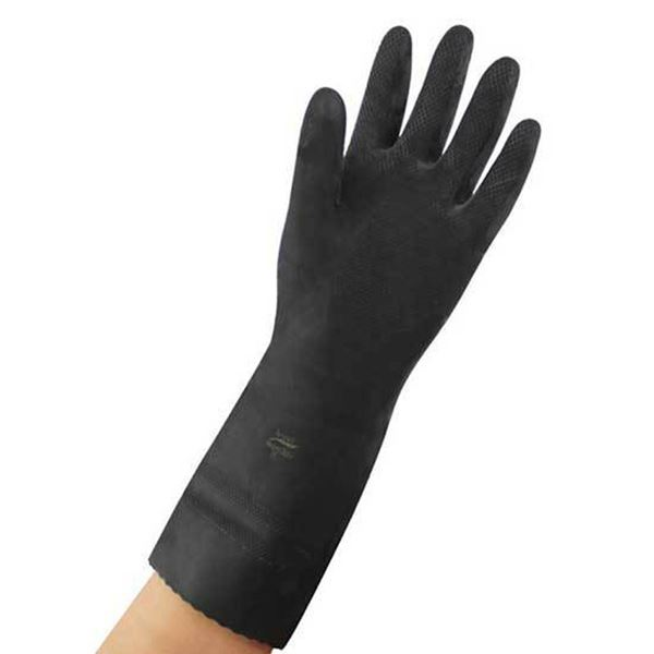 Picture of BLACK HEAVY WEIGHT GLOVE (X LARGE)