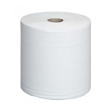 Picture of MAXI WIPER ROLL 2PLY WHITE (Pack of 2)