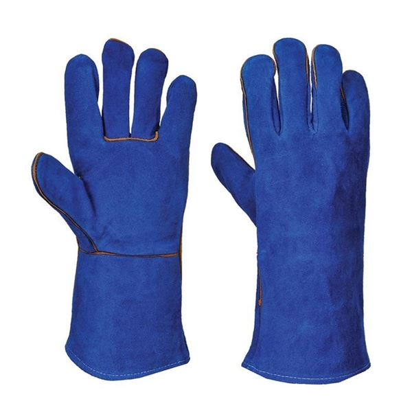 Picture of LEATHER GAUNTLET GLOVES - ONE SIZE