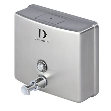 Picture of DOLPHIN STAINLESS STEEL SOAP DISPENSER - 1200ml BC713