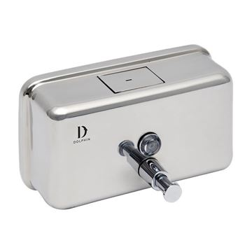 Picture of DOLPHIN STAINLESS STEEL SOAP DISPENSER - 1200ml BC913B