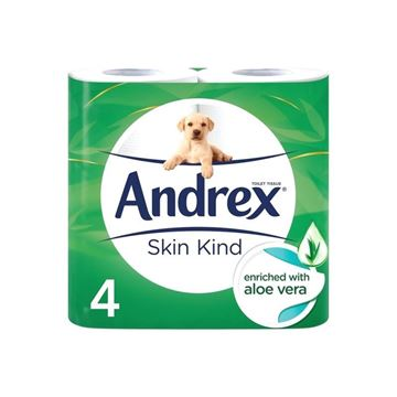 Picture of ANDREX SKIN KIND ENRICHED ALOE VERA (Pack of 24)