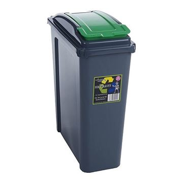 Picture of WHAM RECYCLING BIN WITH LID - 25 Litre