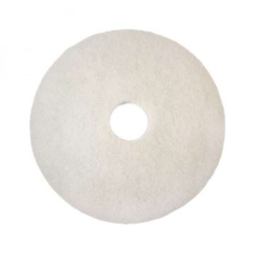 """Picture of 20"""" 3M WHITE FLOOR PAD"""