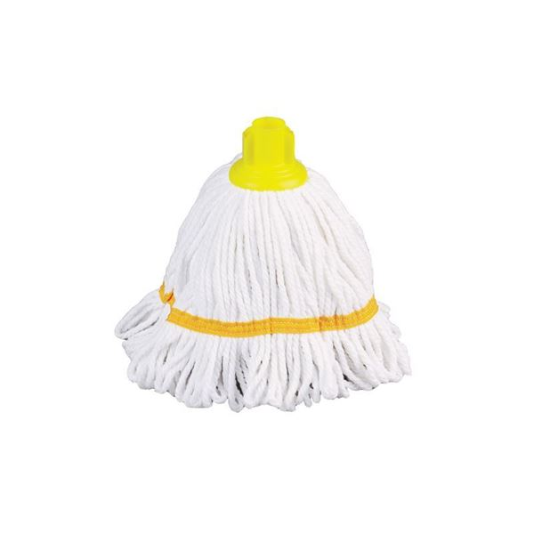 Picture of HYGIEMIX SCREW IN SOCKET MOP YELLOW