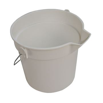 Picture of PROCHEM BUCKET WHITE - 10 Litre - CN3503W