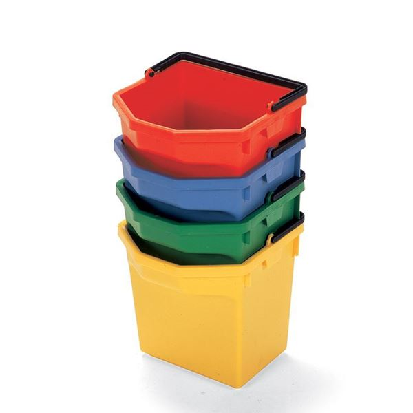 Picture of NUMATIC PAIL BUCKET 5 LITRE RED
