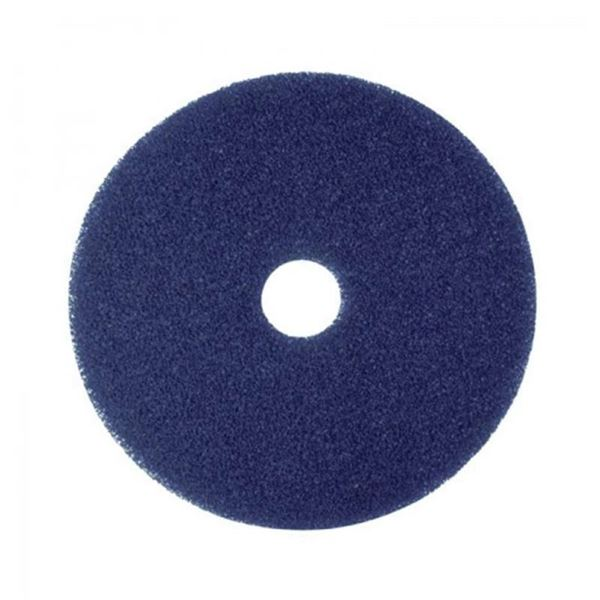 """Picture of 21""""  BLUE FLOOR PAD"""