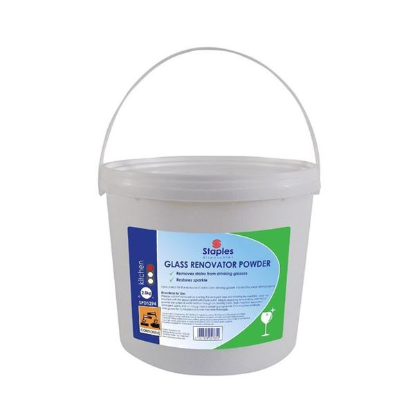 Picture of GLASS WASH RENOVATE POWDER - 2.5kg