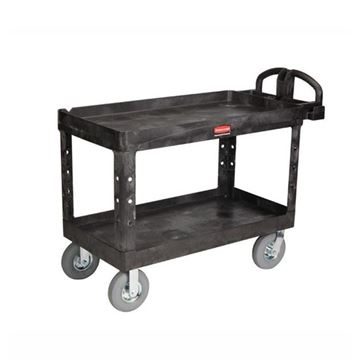 Picture of RUBBERMAID HEAVY DUTY TROLLEY LIPPED SHELF
