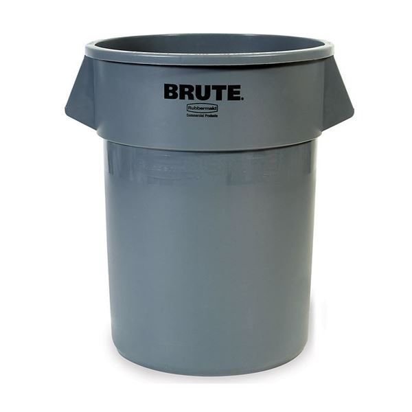 Picture of RUBBERMAID BRUTE - 121 Litre (Grey)