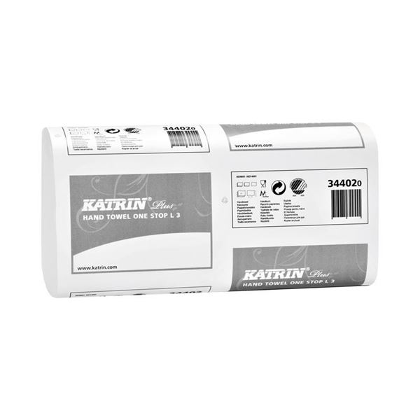 Picture of Katrin One Stop L3 Hand Towels (1890 Sheets) - 344020