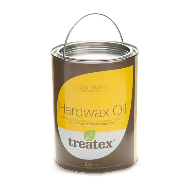 Picture of TREATEX HARD WAX OIL SATIN CLEAR - 2.5 Litre